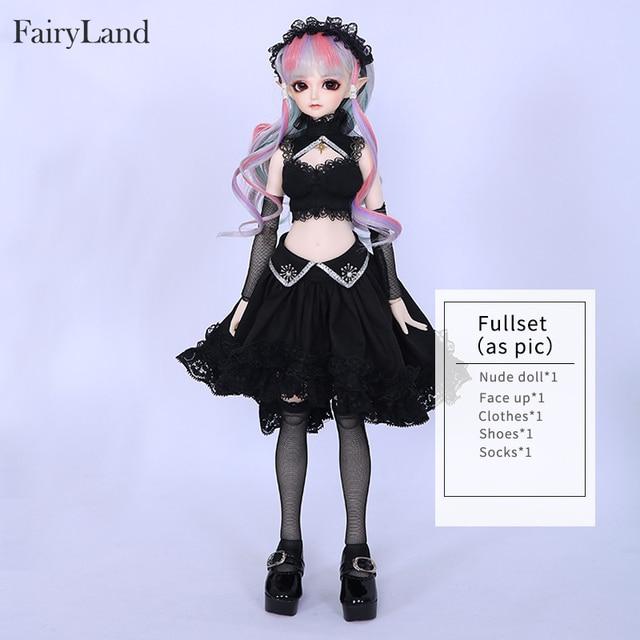 Free Shipping Minifee Eliya BJD Doll 1/4 Elf Girl Flexible Resin Figure Fullset Option Toy For Girl Fantastic Gift Fairyland 5