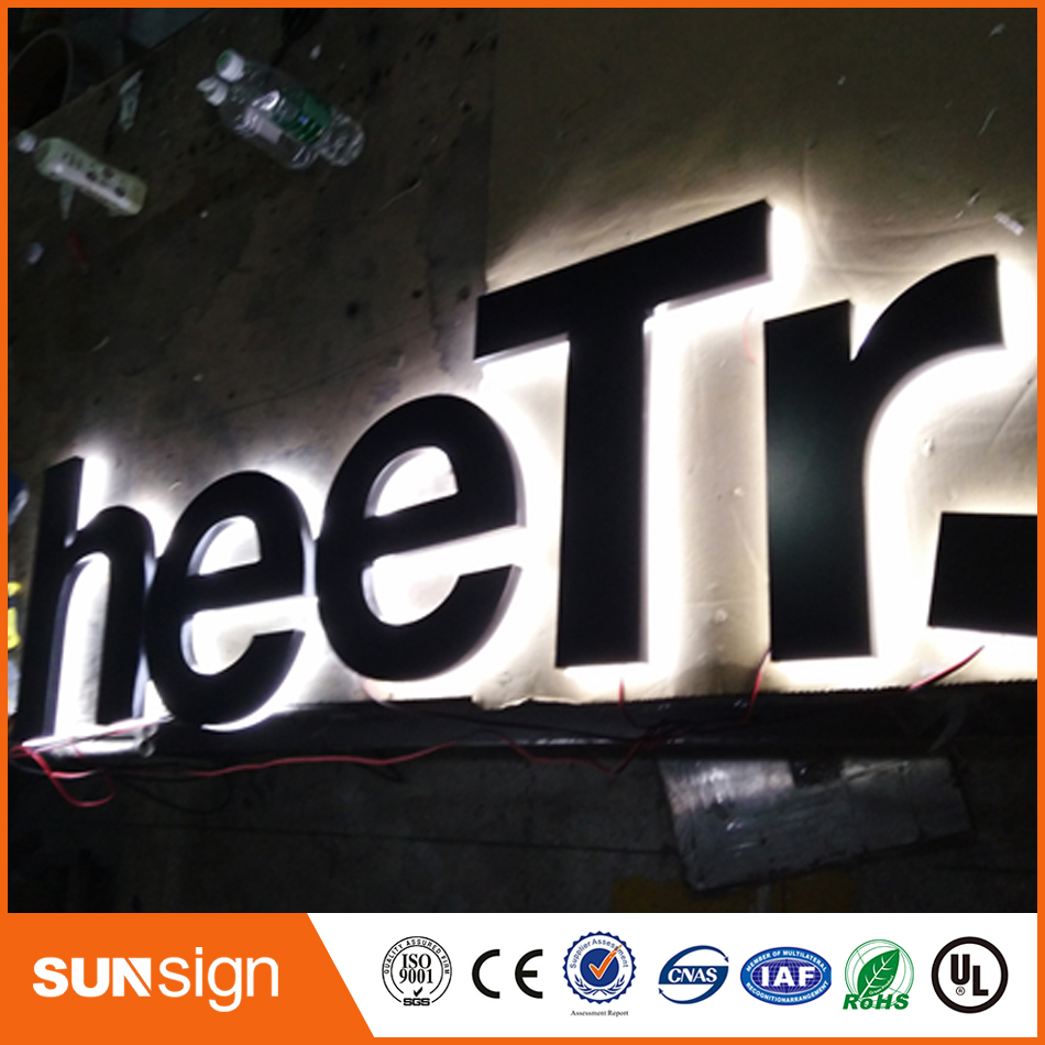 New Advertising Diy Acrylic Led Backlit Channel Letter Sign