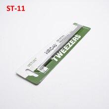Tweezers Repair-Tools Precision Straight Original Vetus ST-11 1PCS Herramientas Stainless-Steel