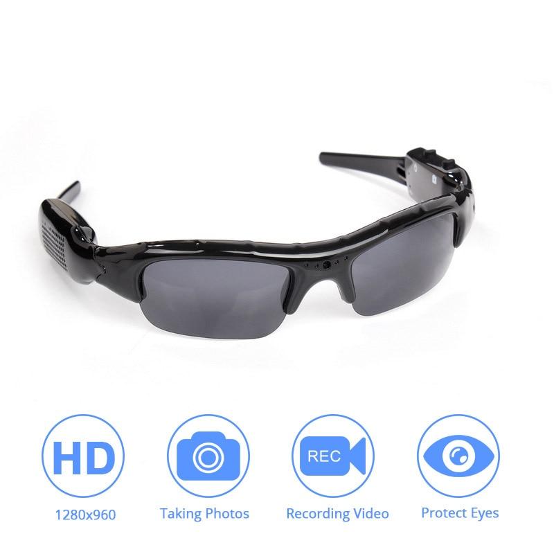 Light-weight DVR Sunglasses Camera TF Mini Audio Video Recorder High Quality Mini DV Video Recorder Stylish Eyewear For Adult 1