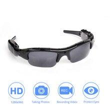 نظارات شمسية DVR للكبار ، كاميرا TF ، مسجل فيديو صغير ، جودة عالية ، أنيقة وخفيفة الوزن