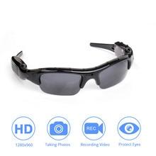 Licht gewicht DVR Sonnenbrille Kamera TF Mini Audio Video Recorder Hohe Qualität Mini DV Video Recorder Stilvolle Brillen Für erwachsene