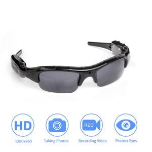 Image 1 - Light weight DVR Sunglasses Camera TF Mini Audio Video Recorder High Quality Mini DV Video Recorder Stylish Eyewear For Adult