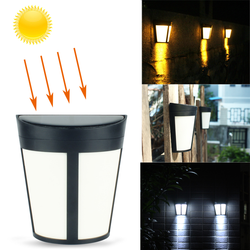 Led Sensor Wall Light LED Solar Lamp Light Luz Energia Solar Auto ON/OFF Outdoor Waterproof Ip65 Garden Light Street Yard Lamp