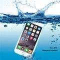 Annongone suave phonecases teléfono case bolsa impermeable para iphone 6/6 s smartphone cubierta a prueba de polvo con la natación surf