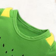 Newborn's Short Sleeves Printed Pajamas