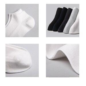 Image 3 - 5 paar/partij Xiaomi Mijia 365 slijtage Casual Mannen Sokken Katoenen Sokken Korte Onzichtbare Slippers Mannelijke Ondiepe Mond No Show Sok