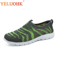 Summer Shoes Men Breathable Mesh Casual Shoes Comfortable Men Shoes Slip On