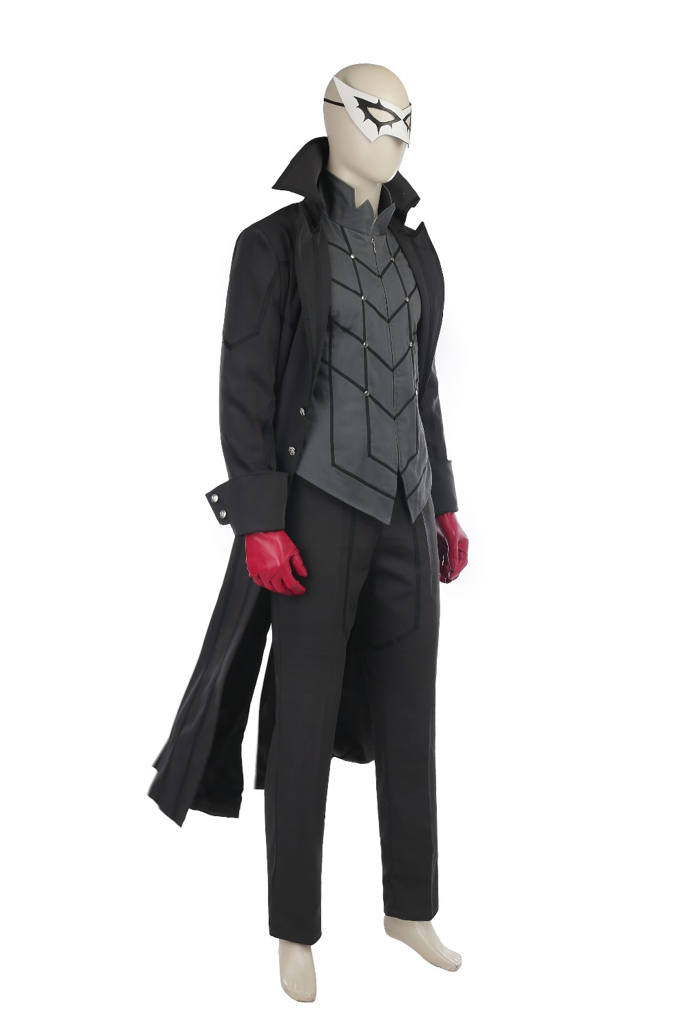 Persona 5 Cosplay Costume Ren Amamiya Cosplay Joker Anime Cosplay Full Set Uniform Halloween Carnival Party Costume Customized