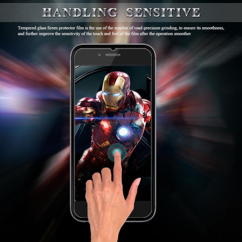 2 шт. Защита экрана для iphone 7 закаленное стекло 6 6s плюс 5S Защитная пленка для iphone x Защита экрана для iphone 8 плюс