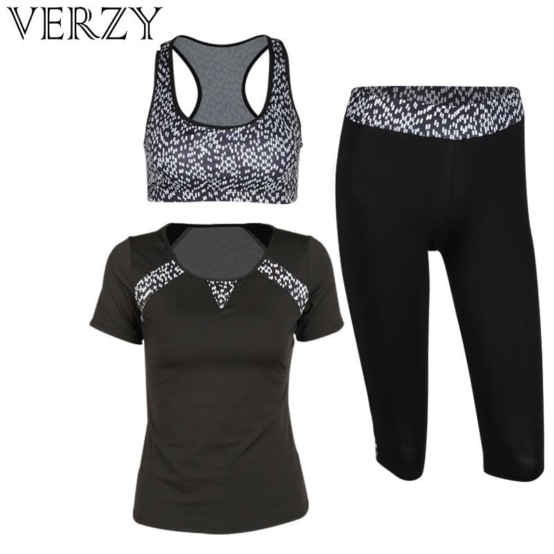 Conjunto de Yoga para mujer, conjunto de ropa deportiva para mujer, conjunto de 3 uds, pantalones elásticos de alta elasticidad para correr, traje deportivo transpirable para Fitness al aire libre