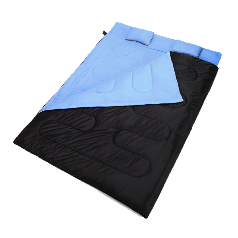 Lightweight Outdoor Double Sleeping Bag Winter Camping Hiking Backpacking Sleeping Bags Cold Winter Envelope Sleeping Bag mummy sleeping bag for cold weather outdoor equipment sleeping gear hiking backpacking camping sleeping bags