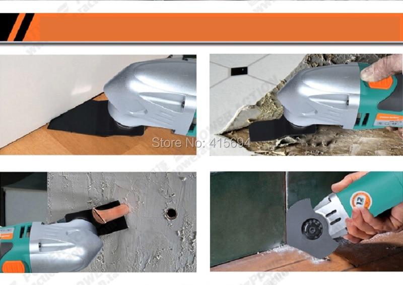 Kandekarp: mitme ostsillaadiga tööriist, multifunktsionaalne - Elektrilised tööriistad - Foto 4
