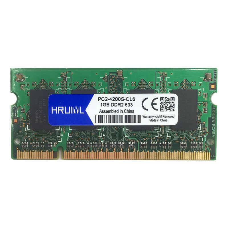 סיטונאי 1 gb 2 gb DDR2 667 800 533 mhz 667 mhz 800 mhz PC2-5300 PC2-6400 1g 2g sodimm sdram זיכרון Ram Memoria עבור מחשב נייד מחברת