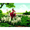 New Painting By Numbers On Wall Acrylic European Style Jesus Shepherd Picture DIY Oil Painting Coloring