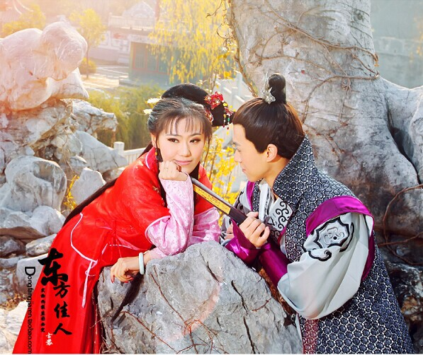 6f9fe74c1 2014 New Design Drama Costume Ming Dynasty Wedding Costume TV Play Perfect  Couple Jinyu liangyuan Lover's Costume-in Chinese Folk Dance from Novelty  ...