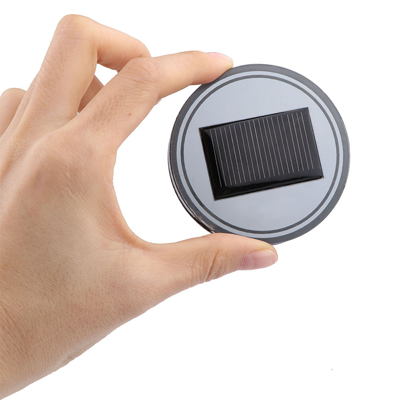 Solar Powered LED Cup Mats 1