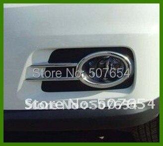 Cao hơn sao ABS với chrome 2 cái xe Trước ĐÈN SƯƠNG MÙ trang trí BÌA đối với Volkswagen TIGUAN 2009-2012