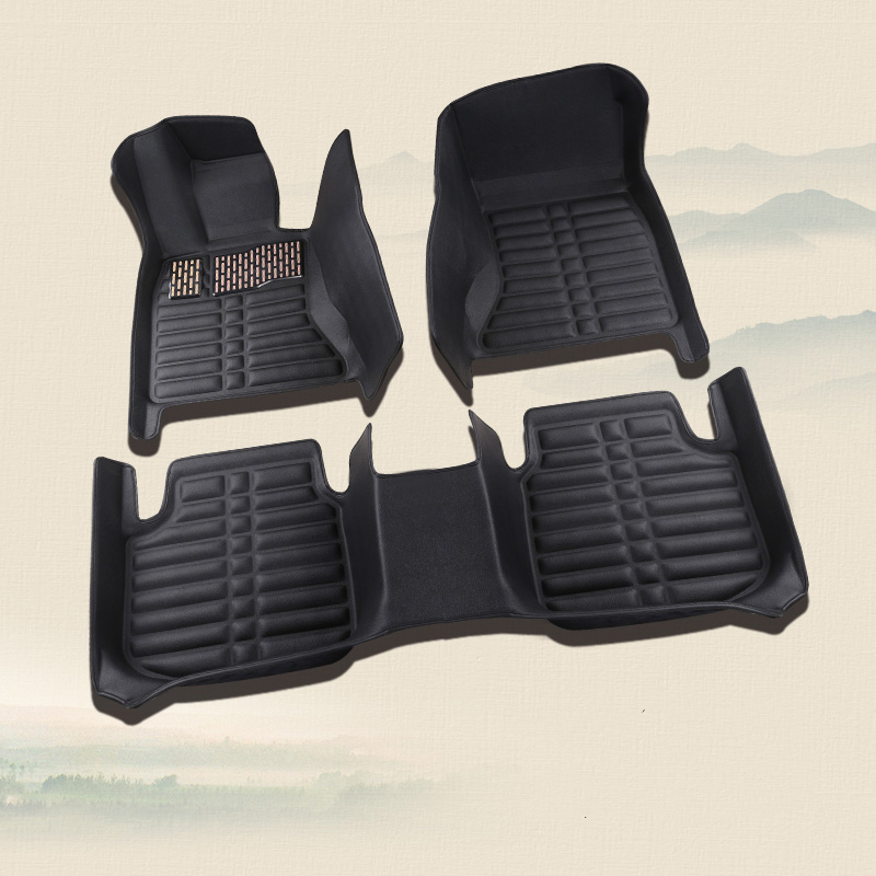 Voiture tapis de sol auto accessoires essuie-pieds pour great wall hover h3 h5 havel h6 h8 h9 h2, mitsubishi asx pajero sport outlander
