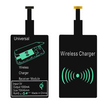 Sindvor QI Wireless Charger Receiver For iPhone X 8 7 6 Plus Universal Wireless Charging Receiver for Micro USB Type-c Phone(China)