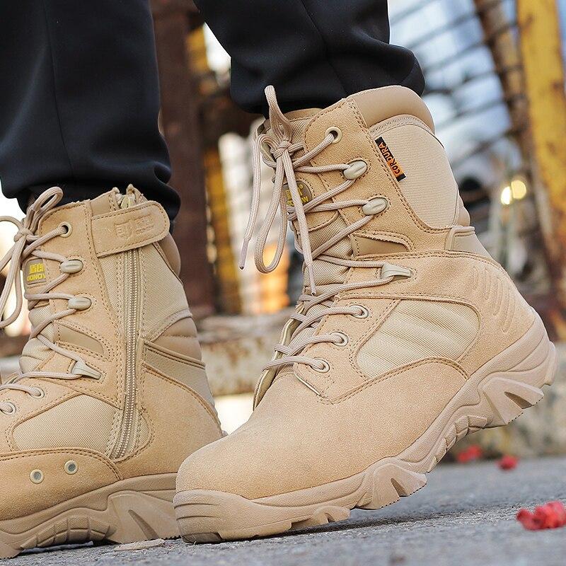 rendimiento superior valor fabuloso comprar bien €29.1 49% de DESCUENTO Botas tácticas militares para hombre, botas de  combate militares, SWAT, americanas, zapatos de invierno, transpirables,  botas ...