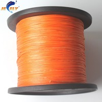 Jeely 100m 120kg 16 strand 1.2mm uhmwpe Fiber braid hollow Fishing line
