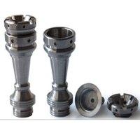 14 мм и 19 мм 4 в 1 Domeless международный шахматный Titanium ногтей, стекло водопровод аксессуар Инструменты с мужскими и женскими сустава.