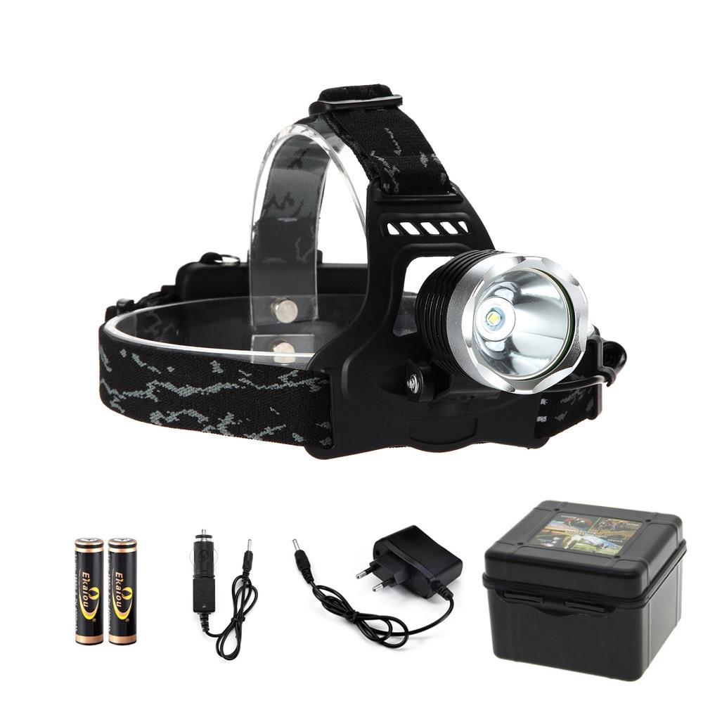 1000 Lumen XM-L T6 LED Headlamp 3 Mode Headlight Head Light Flashlight