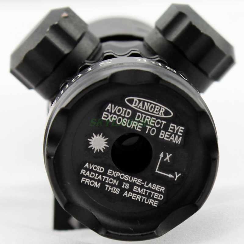 Berburu Adjustable red laser sight luar airsoft rifle gun lingkup riflescope Ekor Beralih Gun Rifle Dengan Mount Baterai & Charger