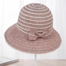 2018 nueva moda estilo bohemio de alta calidad de tela verano Sol para el sombrero  de las mujeres sombrero grande Viseras sombre. 7debc28ab01