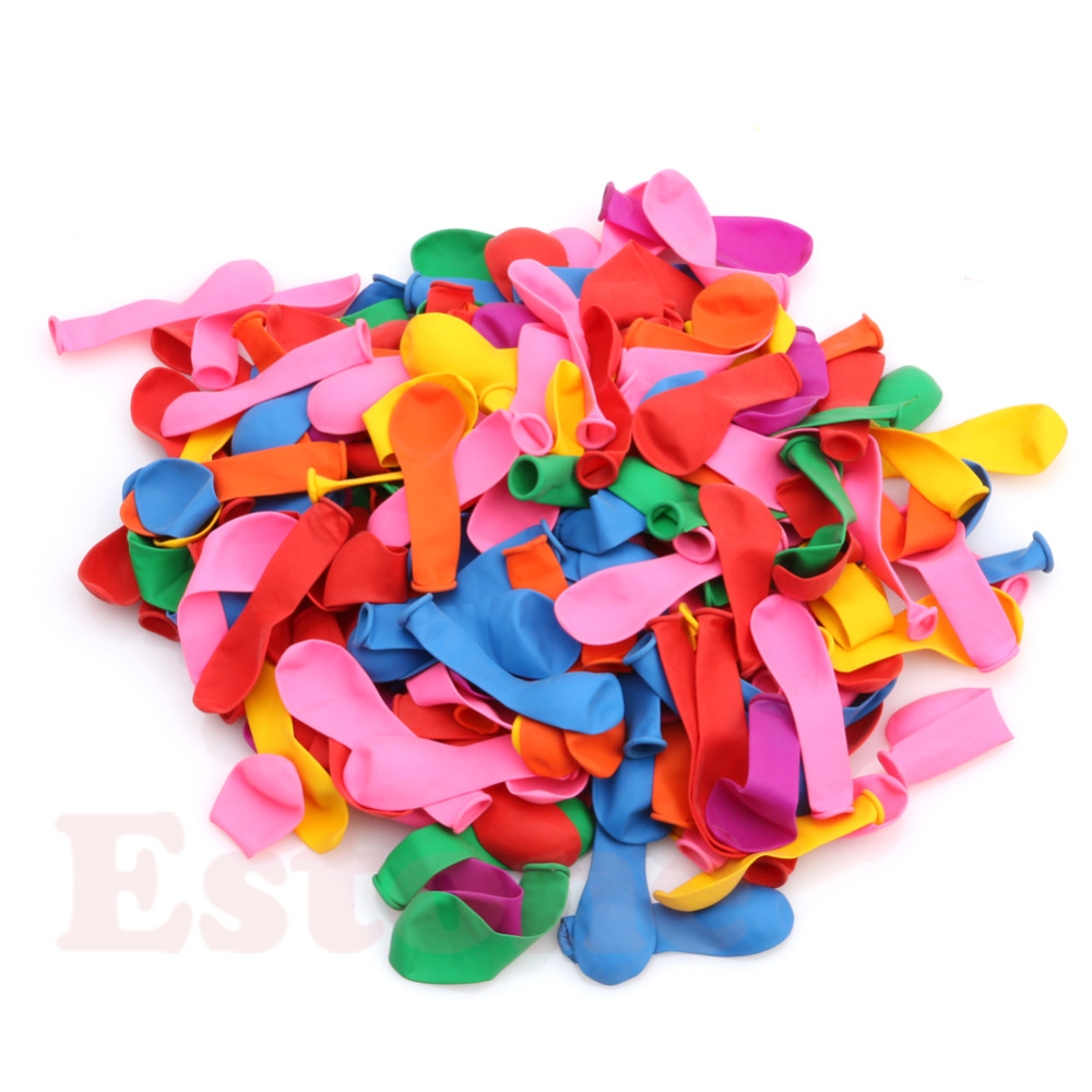 New Fashion 1Pack/500Pcs Water Bombs balloon Colorful TOYS for Children festa infantil decoracao menina