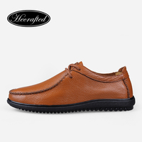 Size 35 48 Handmade Genuine Leather Men Loafers Soft Leather Men Lofer Shoes Hecrafted Brand 2015