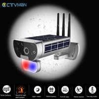 CTVMAN 1080P Solar Sicherheit Kamera Solar WIFI Kamera Außen Drahtlose Solars Kameras IP 2MP CCTV Home Security P2P