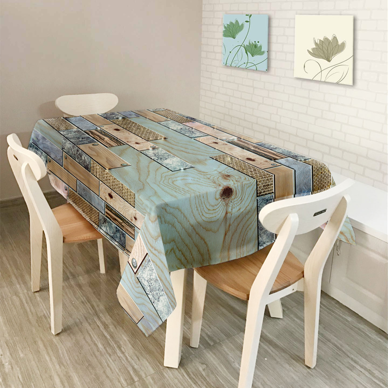 New Home decor Table Cloth Dining Tablecloth Coffee Restaurant Table - Home Textile - Photo 4