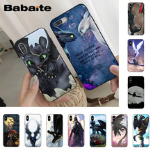 Babaite cool How to Train Your Dragon Phone Case Cover for iPhone 8 7 6 6S Plus X Xs Xr XsMax 5 5S SE Cover11 11pro 11promax babaite lil peep tpu soft silicone phone case cover for iphone 8 7 6 6s plus x xs xr xsmax 5 5s se 5c11 11pro 11promax