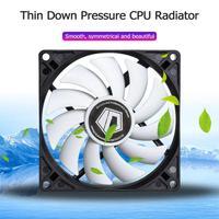 4 Heatpipes Computer Cooling Radiator Heat Pipe 9215 Temperature Controlled Mute Fan for Intel/AMD HDT CPU Fan Cooler Heatsink