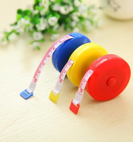Useful Retractable Ruler Tape Measure 60inch Flexible Sewing Cloth Dieting Tailor 1.5M For Household Sewing Accessories