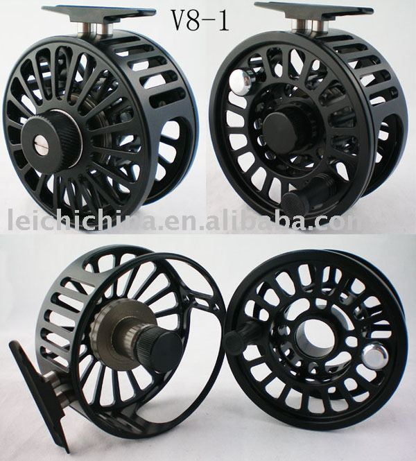 Fly fishing saltwater fly reel v8 in fishing reels from for Saltwater fly fishing reels
