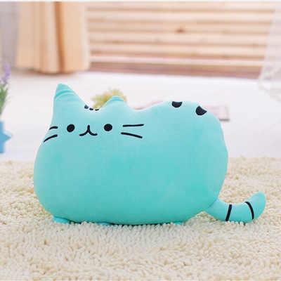 Kawaii бисквиты кошки 40*30 см милая плюшевая зверушка плюшевые игрушки куклы диванные подушки разной формы для детей украшения дома