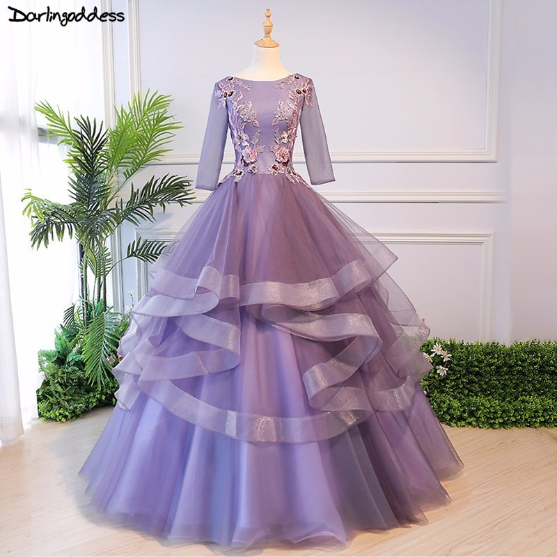 Purple Ball Gown Wedding Dresses Weddings Dresses