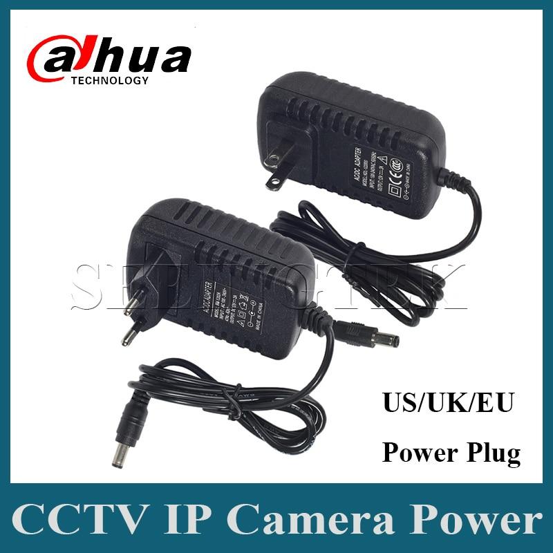 DC12V 2A Power Supply For CCTV IP Camera Power Adapter EU/UK/US Standard Power Plug anran eu 2pin us 2pin au 2pin uk 3pin dc12v 2a output 2 1mm ac100 240v power supply switch adapter for cctv camera