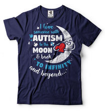 Autism mom T-shirt awareness Tee shirt Mother Shirt2019 New Fashion Brand Men tees