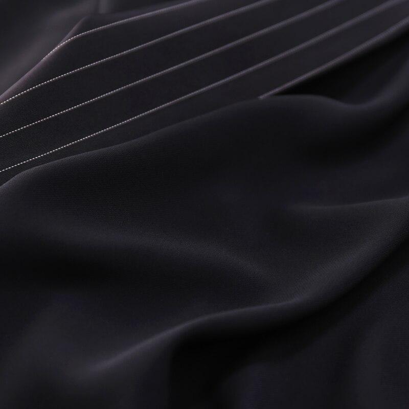 Arrivo Righe Turn 2019 Punto A giù Samgpilee Donne Di Collare Modo Lunga 3xl L Gilet Il Delle Molla Casual Nuova Black Aperto fS8Swxz