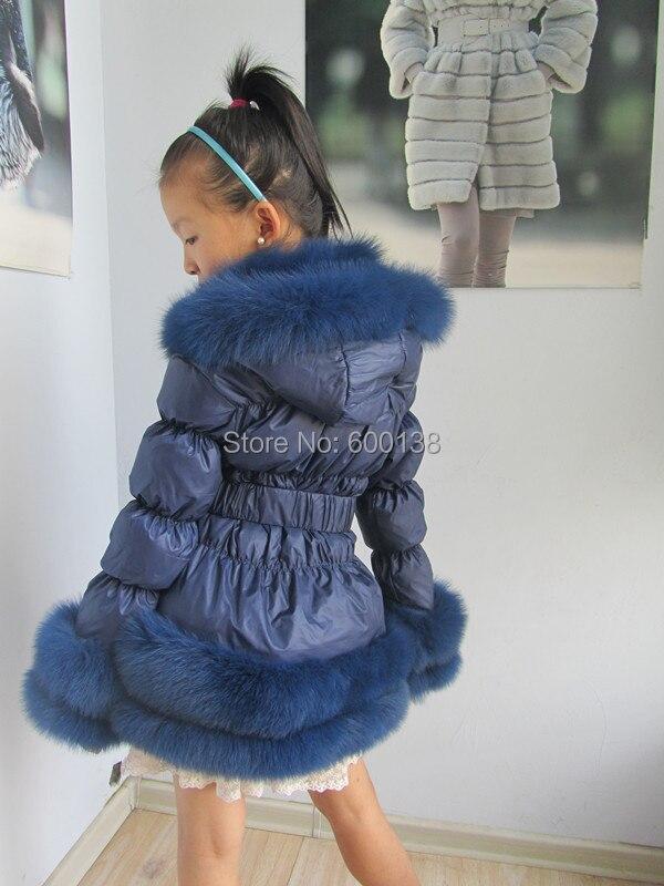 Brezplačna dostava novi slog zimski otroški plašč / priljubljena - Ženska oblačila - Fotografija 2