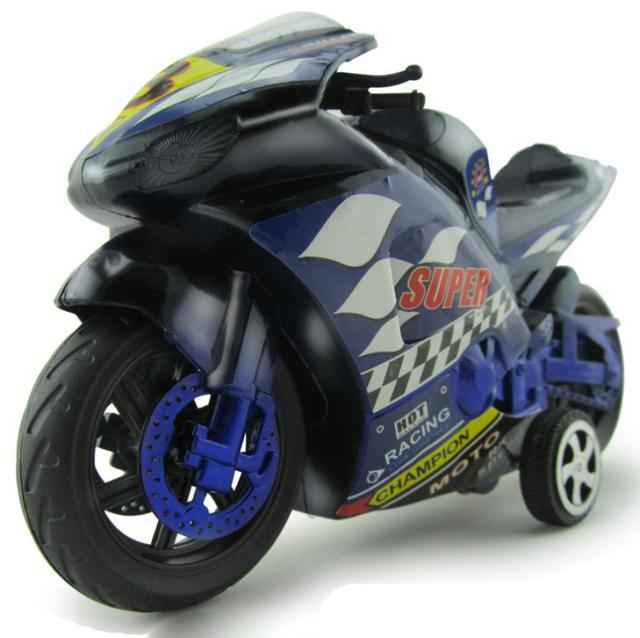 1:32 Large Inertia Motorcycles Toy Car Children's Birthday Christmas Present