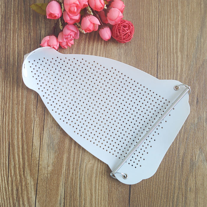10PC S617 Electric Parts Iron White Cover Shoe Ironing Aid Board Heat Protect Fabrics Cloth Heat Fast Iron Without Scorching
