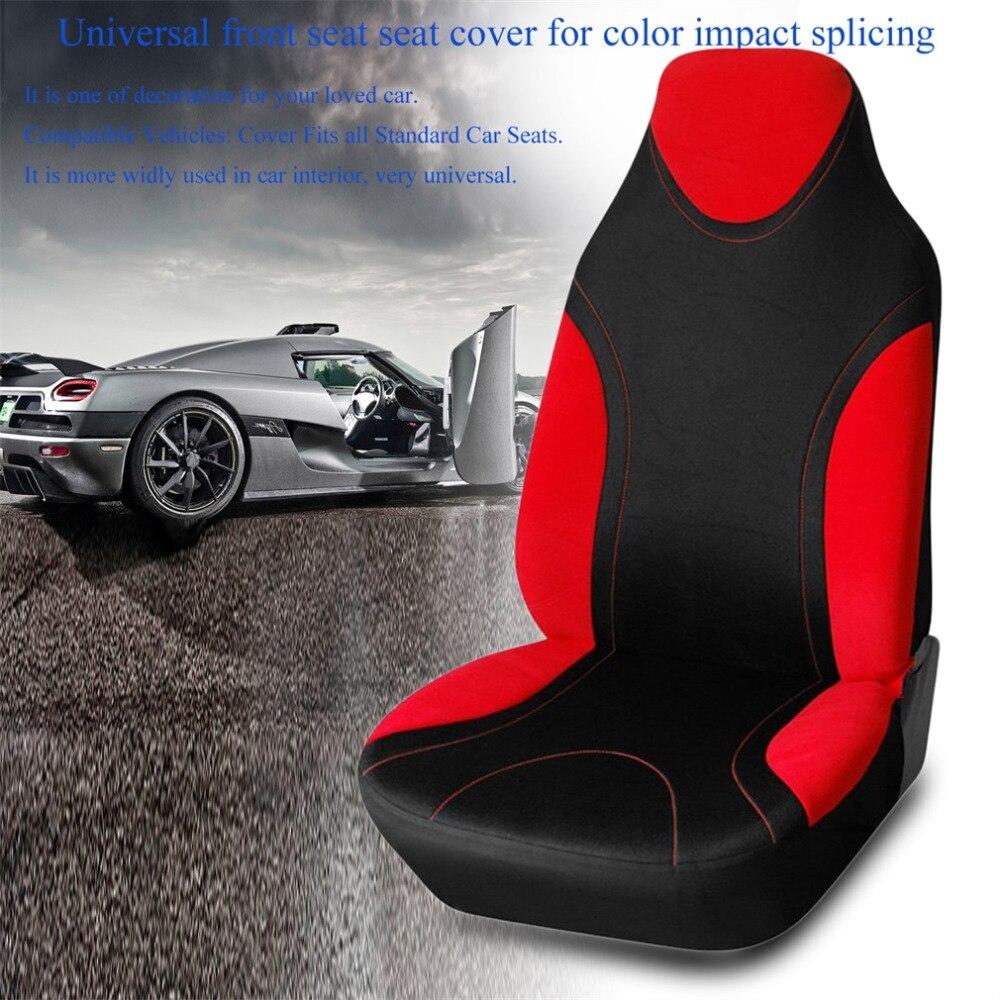 Оригинальные Модные переднем сиденье автомобиля Подушки-засучив автомобиля удобные слайд шить Цвет сиденье Подушки сиденья
