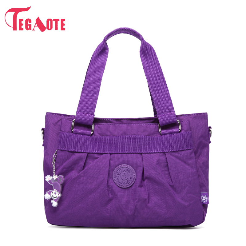 TEGAOTE Women Messenger Bags Female Shoulder Bag For Women Waterproof Nylon Handbag Ladies Crossbody Bags Bolsa Sac Do Femme