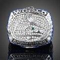 Venda por atacado! 2013 Seattle Seahawks Réplica Super Bowl Anéis de Campeonato Anel Para Homens Moda Customed Esporte Jóias J01954
