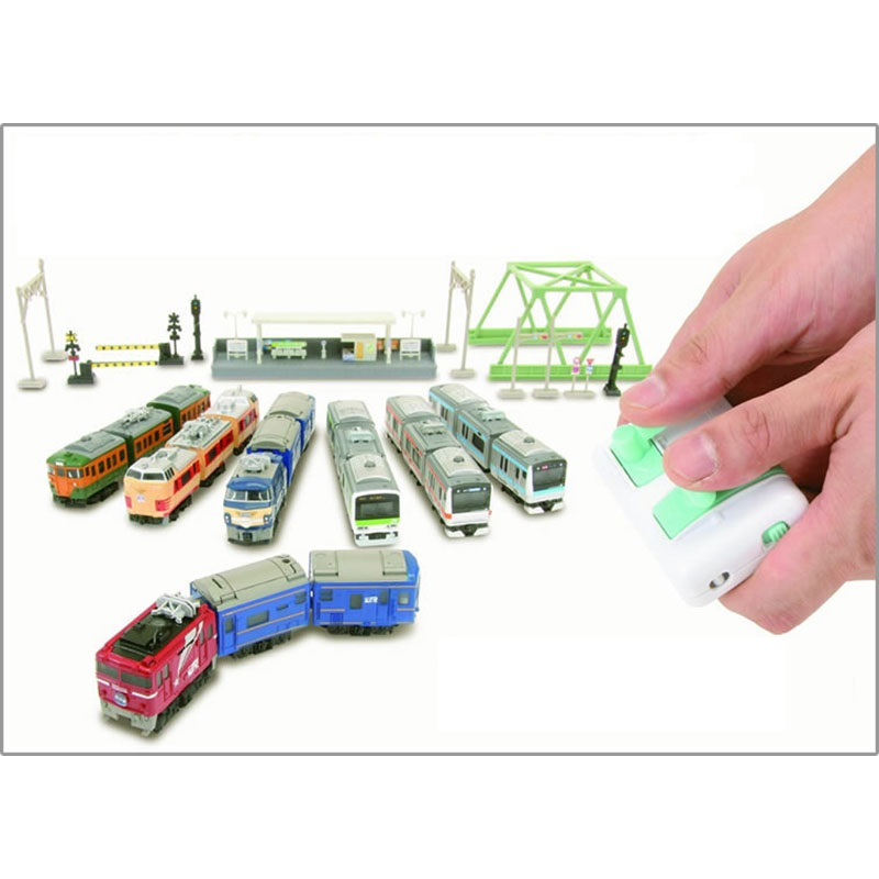 High quality 12cm Mini RC Train toys classical Electronic style toys for children kids gift
